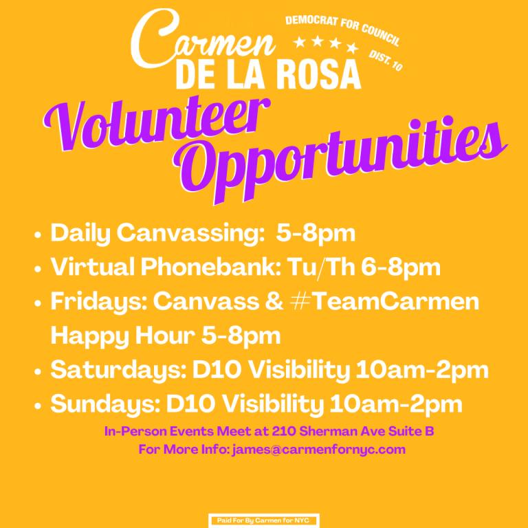 Volunteer Opportunities (1)
